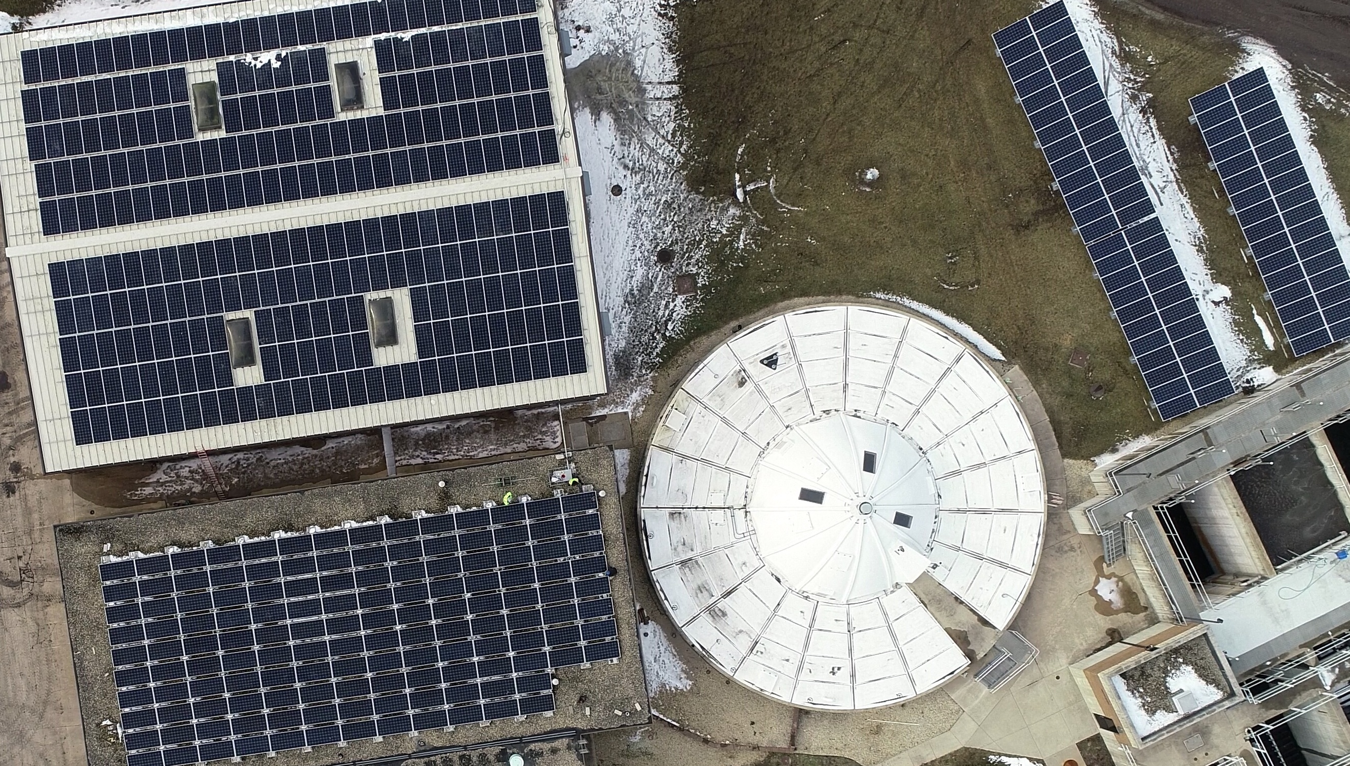 Plano, Illinois ComEd solar grid with Distributed Generation system