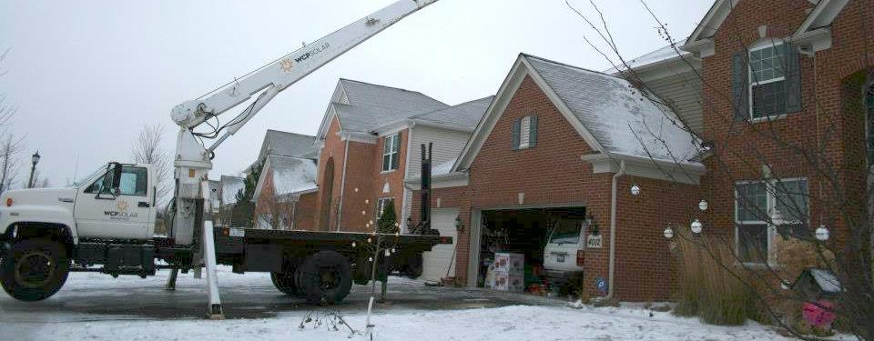 WCP Solar Crane