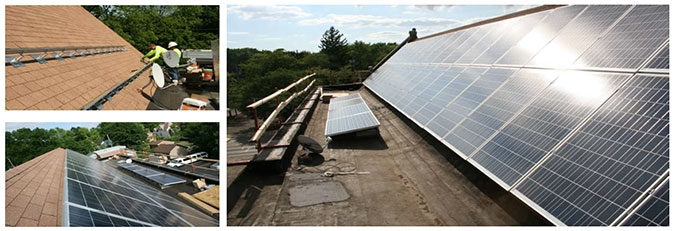 Naperville Liposuction Institute Solar Panel Installation by WCP Solar