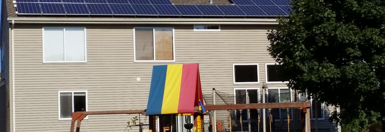 Joliet residential PV solar installation
