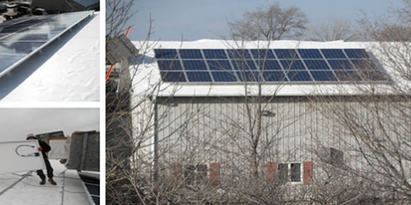 Joliet roofing firm solar installation with wcp