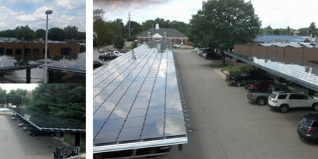 springfield engineering solar installation with wcp