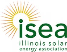 Illinois Solar Energy Association ISEA Logo | WCP Solar